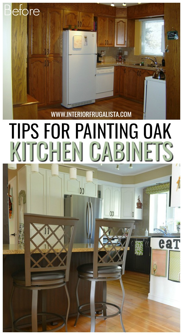 Tips For Painting Kitchen Oak Cabiinets