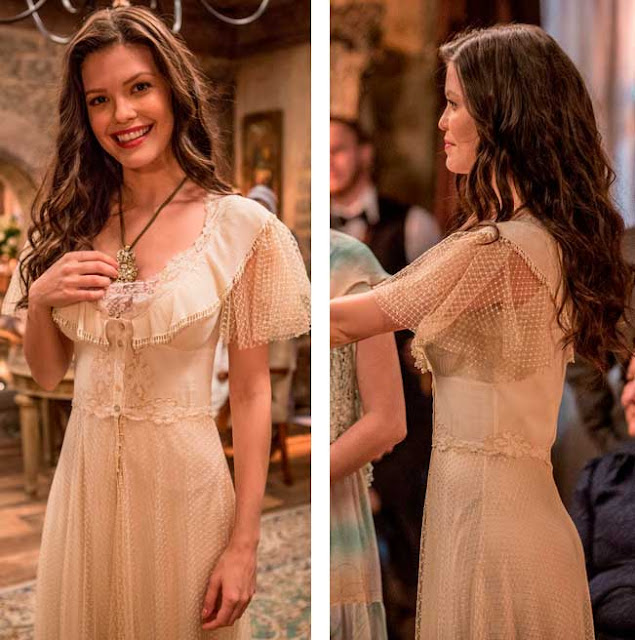 Vestido Maria Vitoria Tempo de Amar