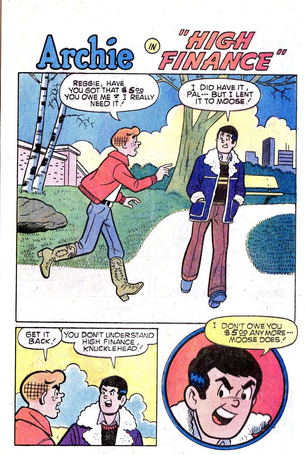 Read online Archie (1960) comic -  Issue #270 - 29