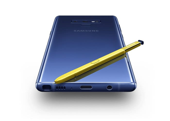 Samsung Galaxy note 9 specification with price