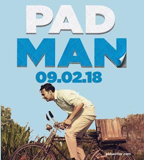 pad man padman movie ticket offer discount