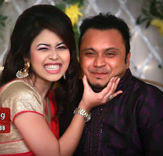 Mishu Sabbir And His Wife Shamma Holud Wedding Photos With Ashna Habib Bhabna