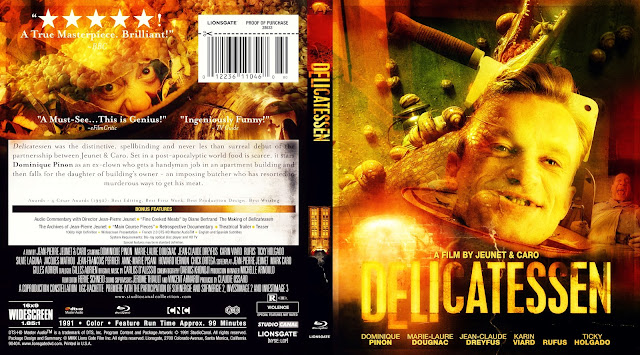 Delicatessen Bluray Cover