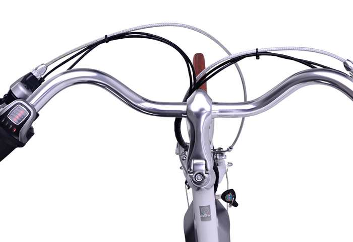 bicicletas electricas Benelli Classica - manubrio