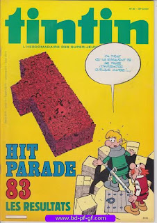 Tintin-numéro 36, année 38, 1983