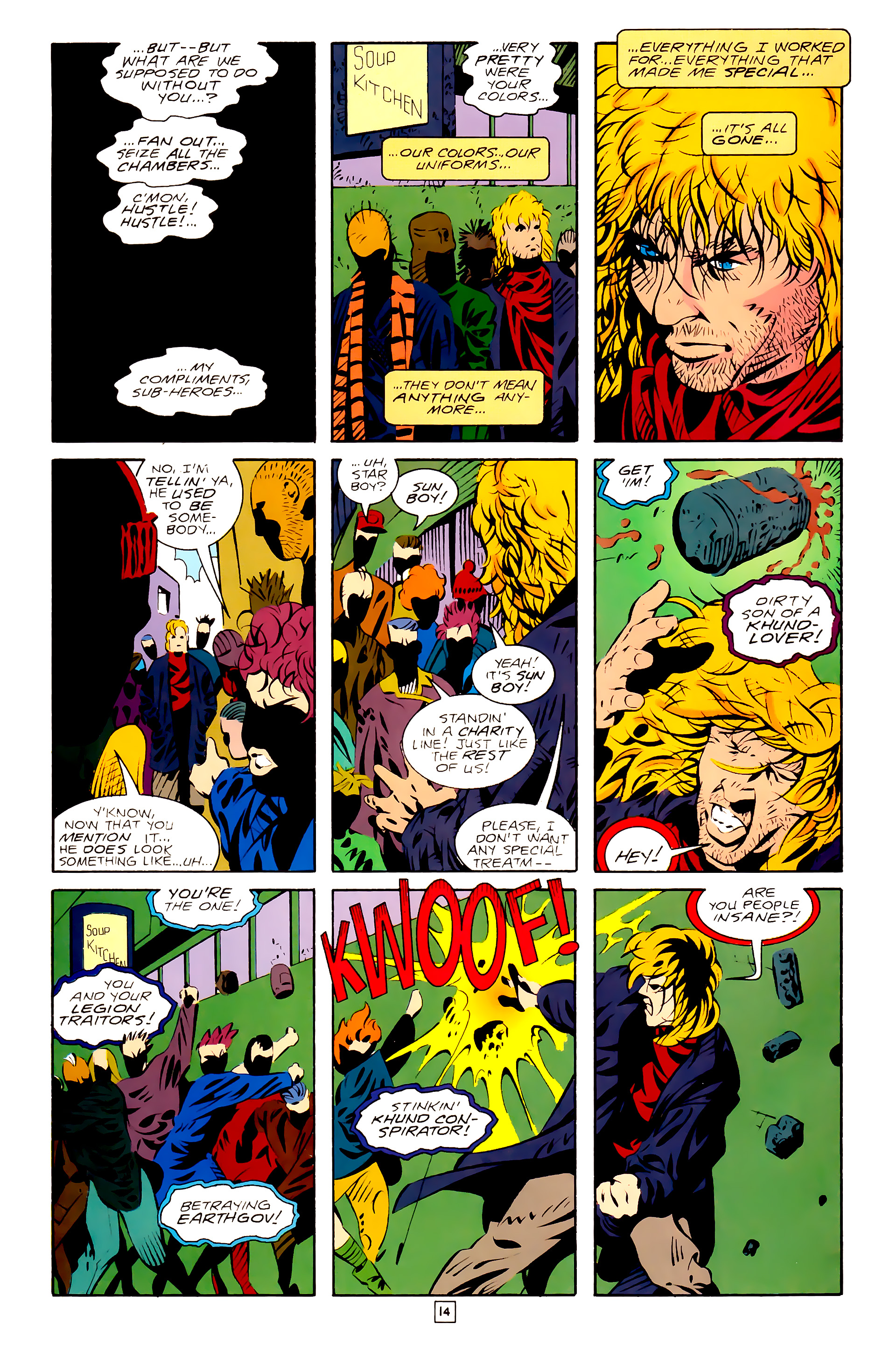 Legion of Super-Heroes (1989) 28 Page 14