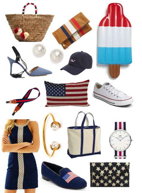 memorial day and fourth of july outfit inspiration