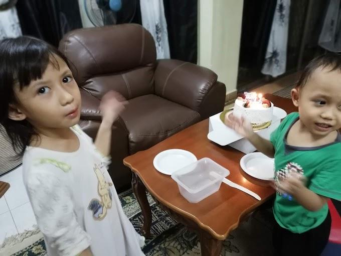 Kek Birthday Abah Dari Ajwa Bakery Subang