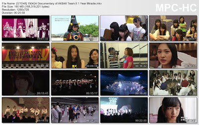 Documentary of AKB48 Team 8 1 Year Miracle Subtitle Indonesia