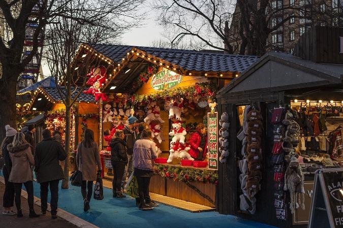 Visitar mercado navideño