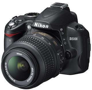 Cãmera digital Nikon D3000