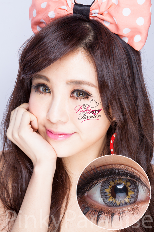 Princess Pinky Eclipse Green Circle Lenses (Colored Contacts)