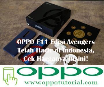 OPPO F11 Edisi Avengers