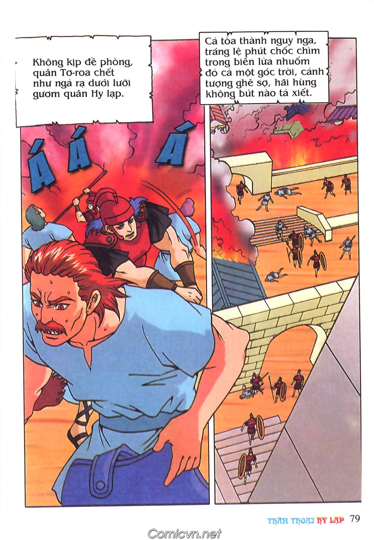 Thần Thoại Hy Lạp Màu - Chapter 69: Thành Troy thất thủ - Pic 9