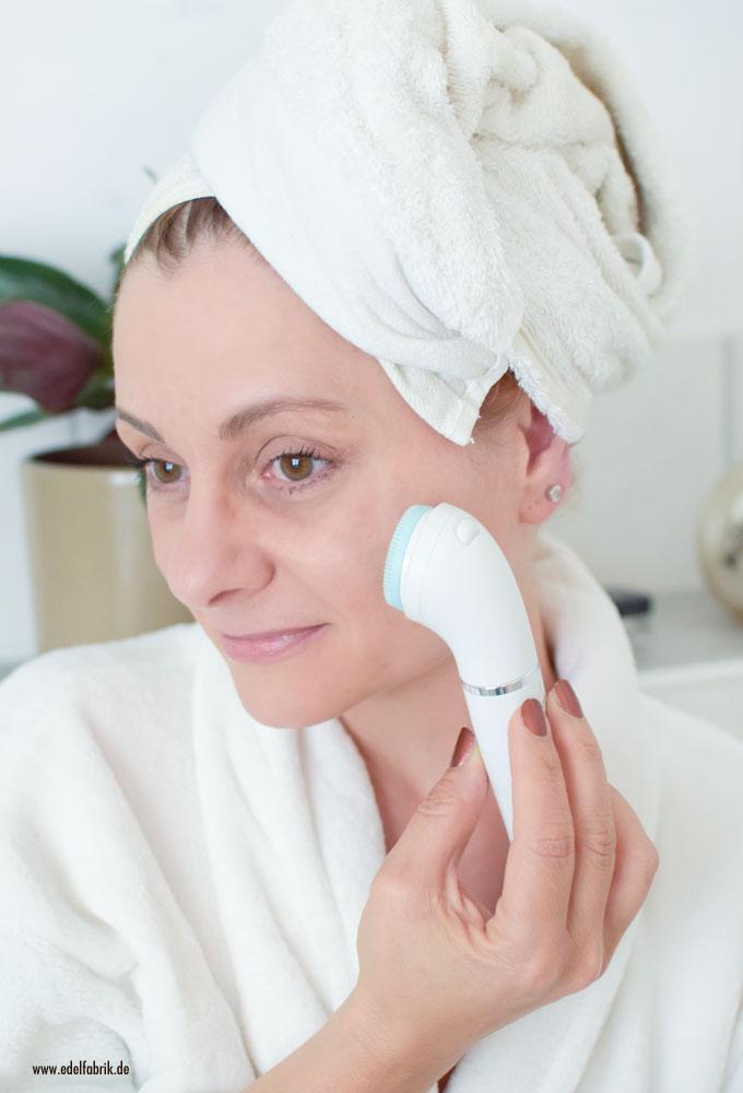 Wie gut ist die Peeling Bürste des Braun Face Spa, Face Spa Review