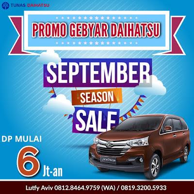 Promo Daihatsu Xenia September Ceria 2017