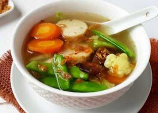 Cara Membuat Sup Gelantin Ayam