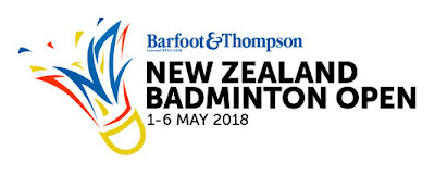 Hasil New Zealand Open 2018