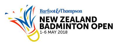 Hasil New Zealand Open 2018