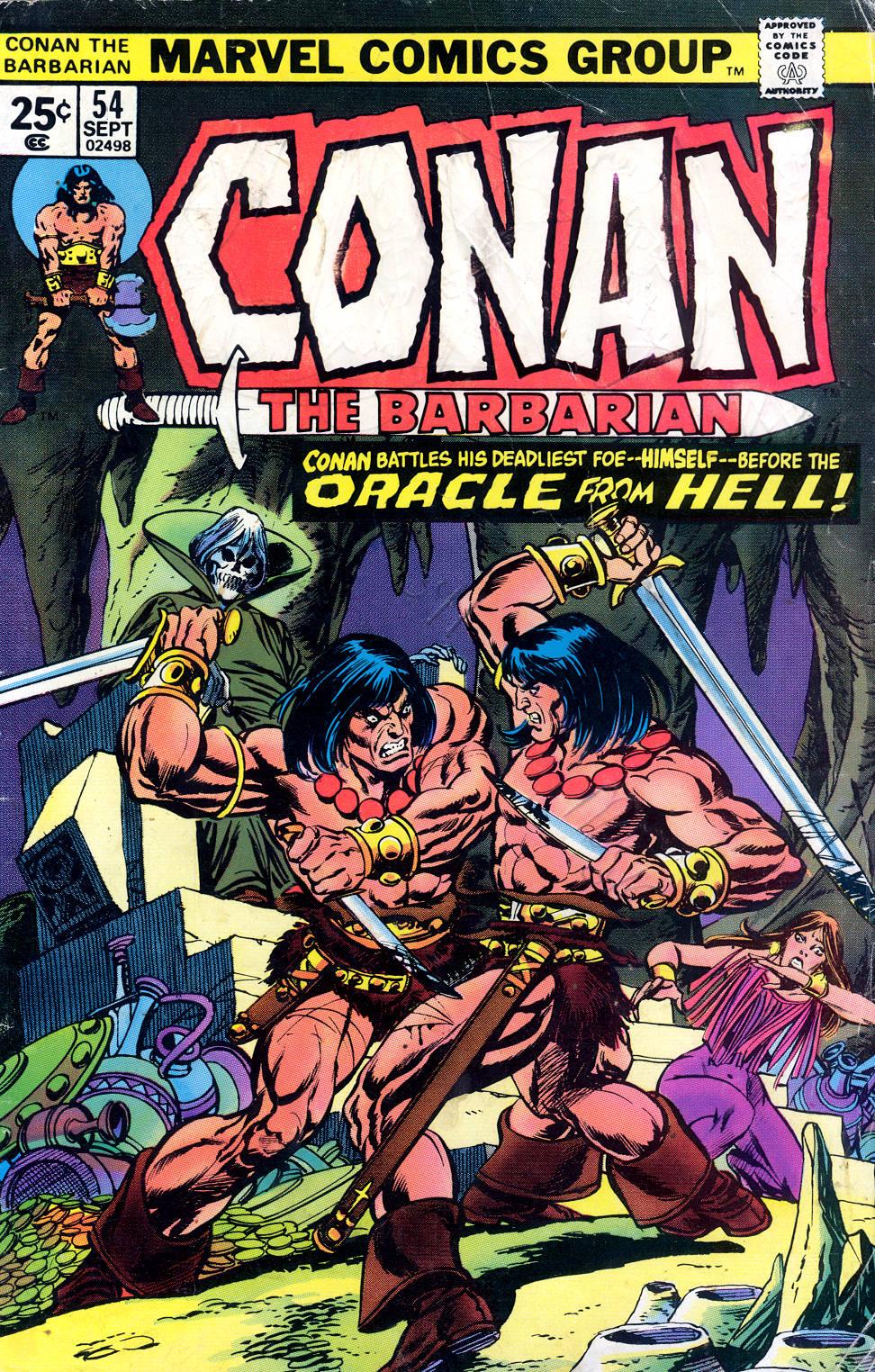 Conan the Barbarian (1970) 54 Page 1