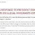 SENATOR JEFF SESSIONS RESPONSE TO PRESIDENT OBAMA'S COMMENTS ON ILLEGAL IMMIGRANTS VOTING IN U.S.