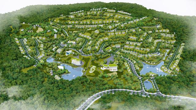 Toàn cảnh dự án Lâm Sơn Resort Hòa Bình