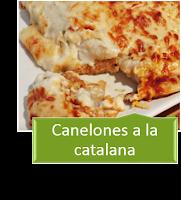 CANELONES A LA CATALANA