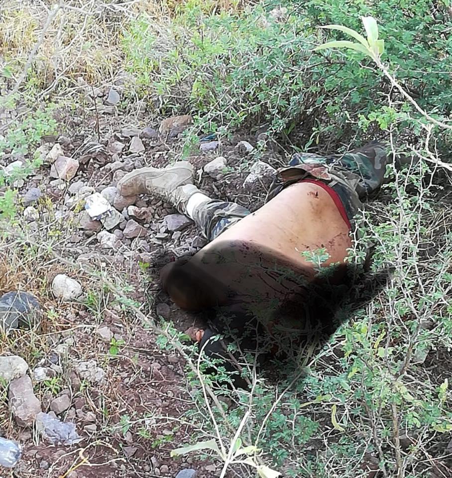 """Fotos: Circulan en redes imágenes del fuerte """"topon"""" entre Cárteles en Chihuahua"""