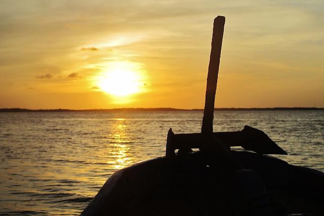 Pôr do Sol em Tutóia no Delta do Parnaíba