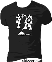 The Local Route Disc Golf Shirt