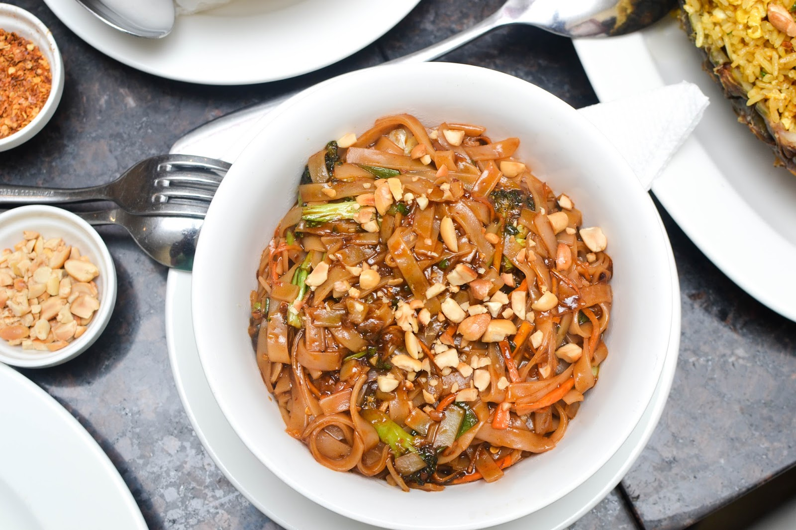 Pad thai noodles in lagos