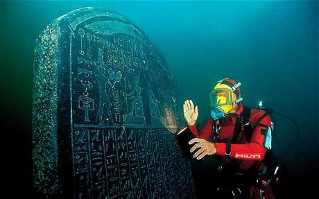 Kota yang Tenggelam di Mesir Ditemukan Lagi