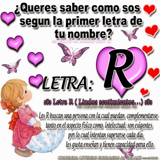 Palabras De Amor Con La Letra R