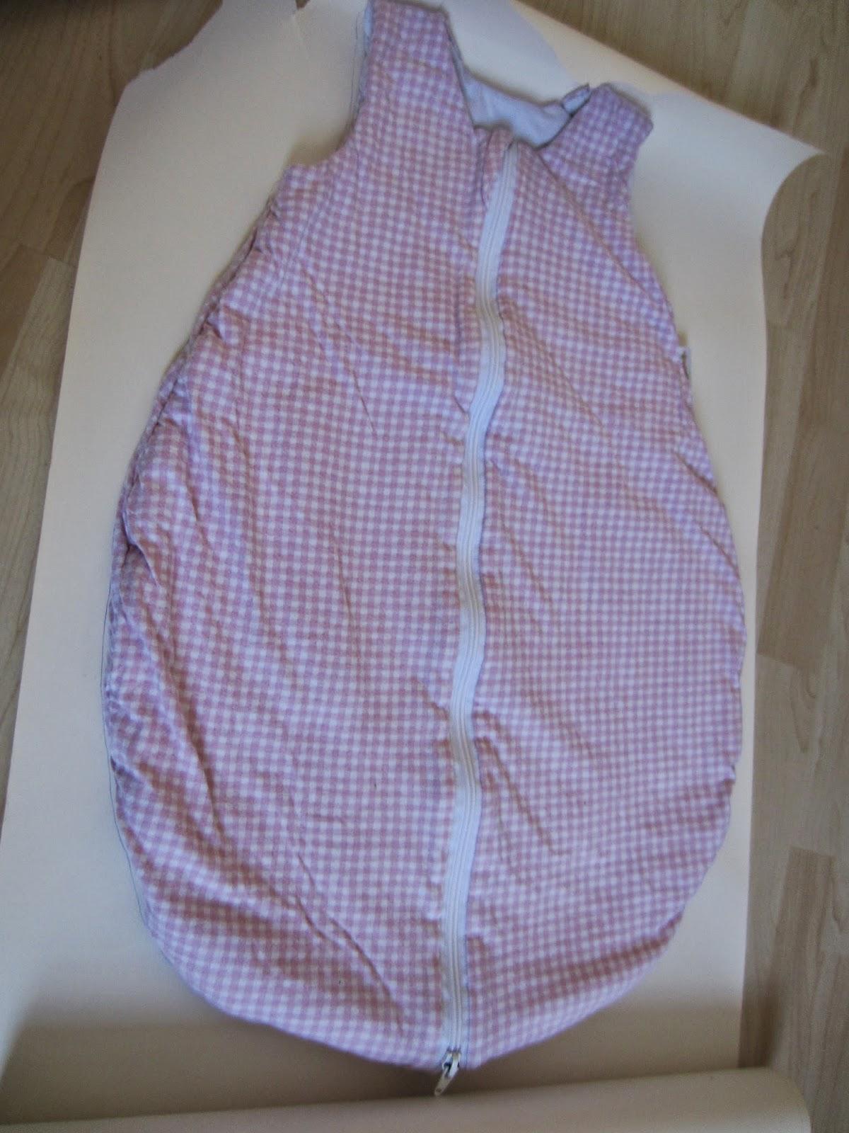 vanamas kinder und familien blog leichten babyschlafsack selber n hen eine anleitung. Black Bedroom Furniture Sets. Home Design Ideas