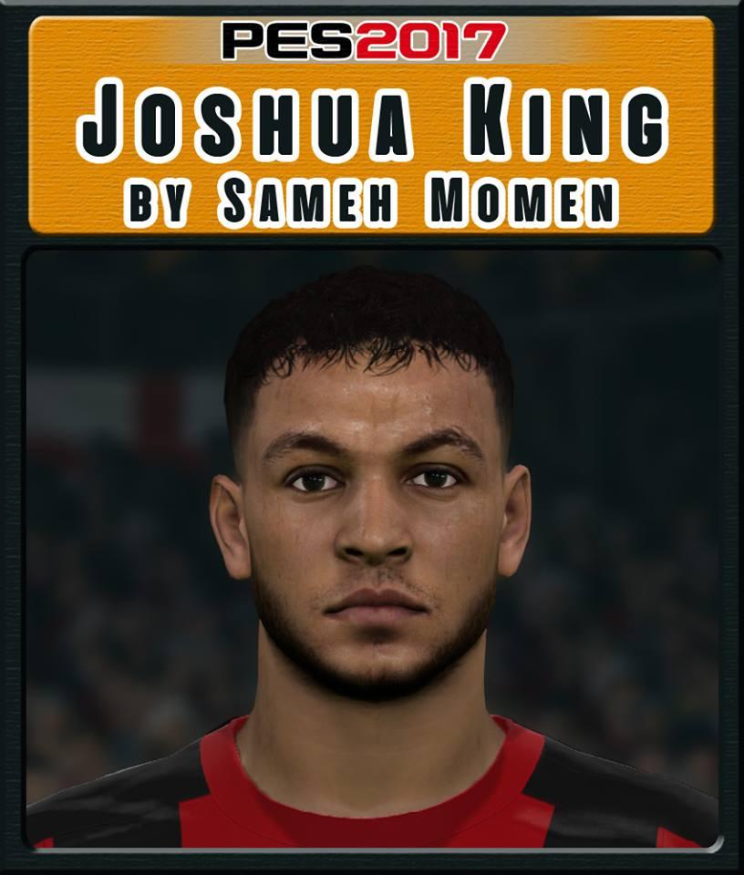 PES 2017 J. King face by Sameh Momen