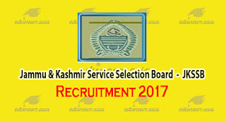 JKSSB Recruitment 2017 For Liberian And Assistant's Jobs