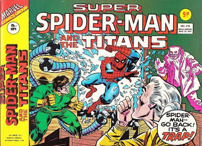 Super Spider-Man and the Titans #215, Dr Octopus and Hammerhead