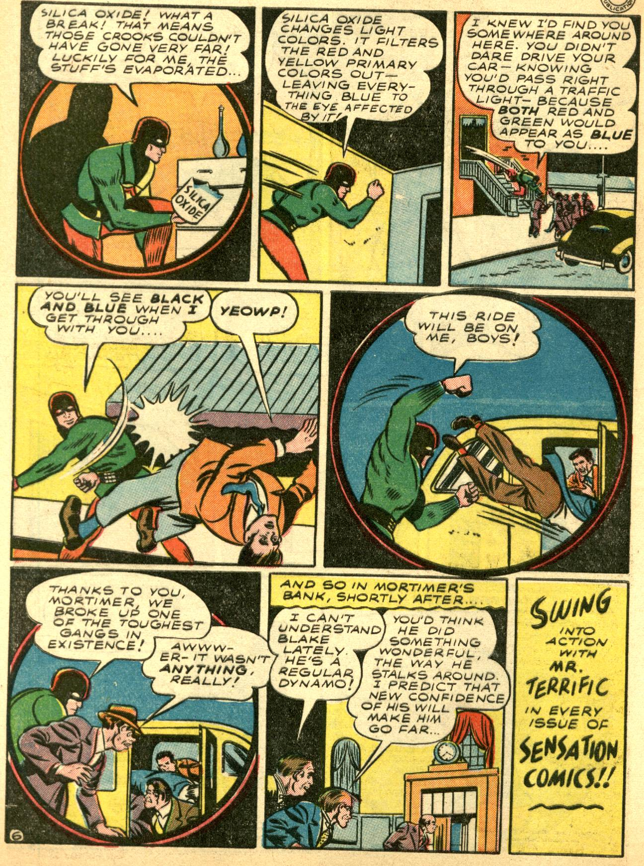 Read online Sensation (Mystery) Comics comic -  Issue #53 - 40