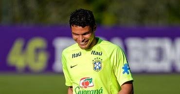 ALL SPORTS PLAYERS: Thiago Silva Young Brazil Footballer 2014 |Thiago Silva Footballer 2014