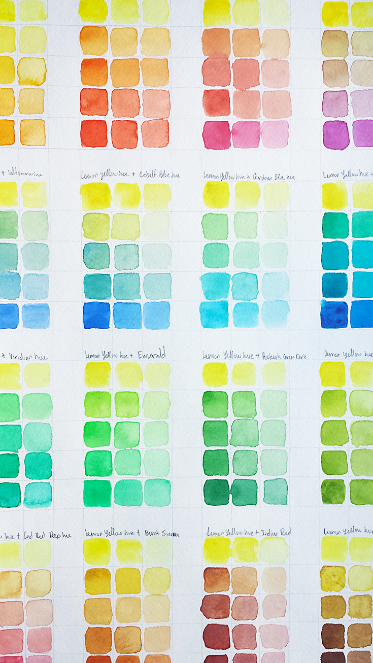 I think that color studies are a useful tool for any artist So in this blog post, I explain four benefits to creating a color guide and link to a post on how to create one yourself.