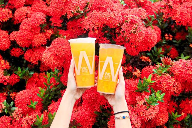 MG 7173 1 - 夏日限定芒果綠茶就在華得來!滿滿半杯的新鮮芒果果肉超滿足!