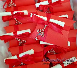bomboniere laurea ciondoli personalizzate