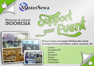 sewa perangkat multimedia untuk event, pelatihan, nobar, seminar  081259352888