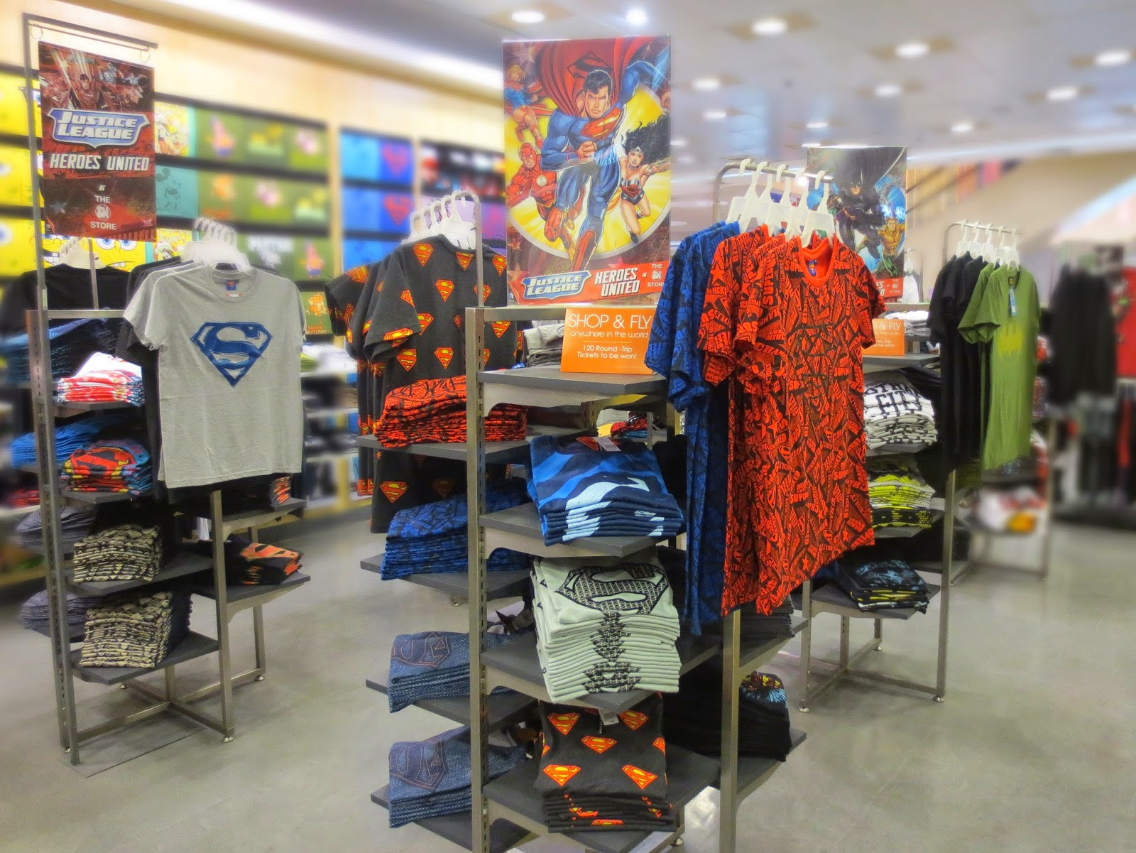 2c32cd669 The SM Store Unveils DC Comics  Justice League New 52 Apparels and ...