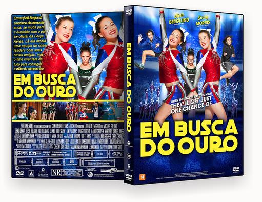 EM BUSCA DO OURO DVD-R – CAPA DVD