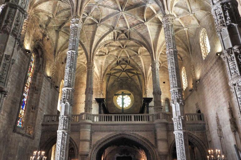 Eglise du monastère des Hiéronymites dans la ville de Lisbonne