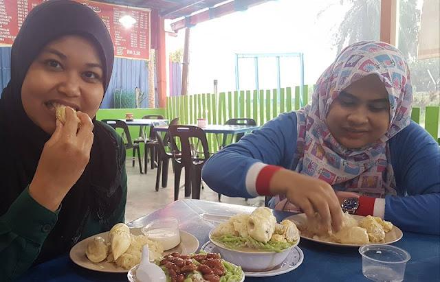 Pekena Pulut Durian Pak Yeop Corner Trong Perak
