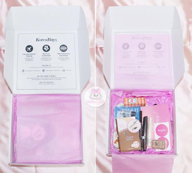 KoreaBuys Beauty Makeup Box review
