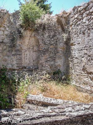 Bains romains, Epidaure, Argolide, Péloponnèse, Grèce
