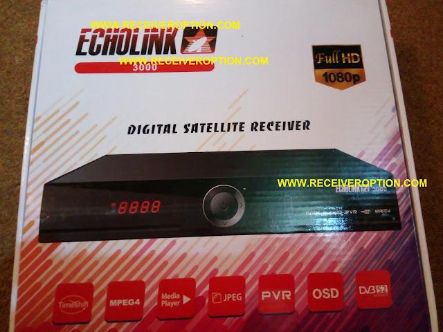 ECHOLINK 3000 HD RECEIVER CCCAM OPTION